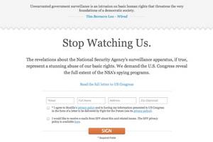Mozilla против слежки за пользователями