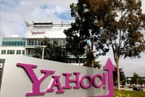 Рост цены на акции компании Yahoo