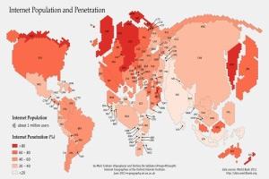 В Оксфорде составили карту интернет-мира