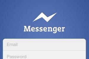 Facebook продвигает Facebook Messenger