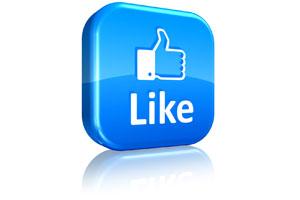 Facebook представила новую мобильную кнопку Like