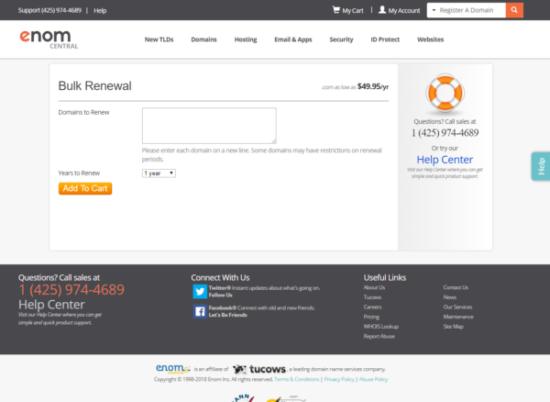 Как продлить домен в зоне info за 49$